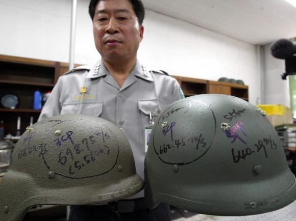 '미군 헬멧'만 쳐다보던 한국..'방탄 선진국' 꿈 이뤘다1 - 복사본.jpg