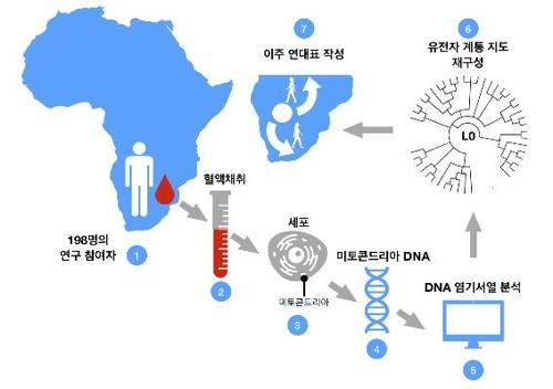 현생인류 발상지는 아프리카 칼라하리..기후변화로 이주 시작1.jpg